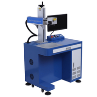Desktop JPT 50W 60W fiber laser marking machine