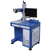 China fiber laser engraving machine 30W for metal