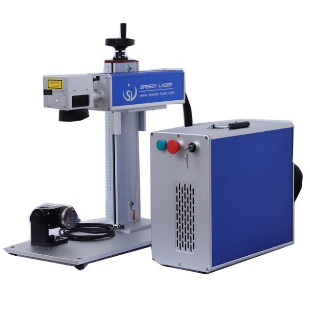 110/×110mm Fiber Laser Marking Machine Fiber Laser Engraver Fiber Laser Marker JPT 20W