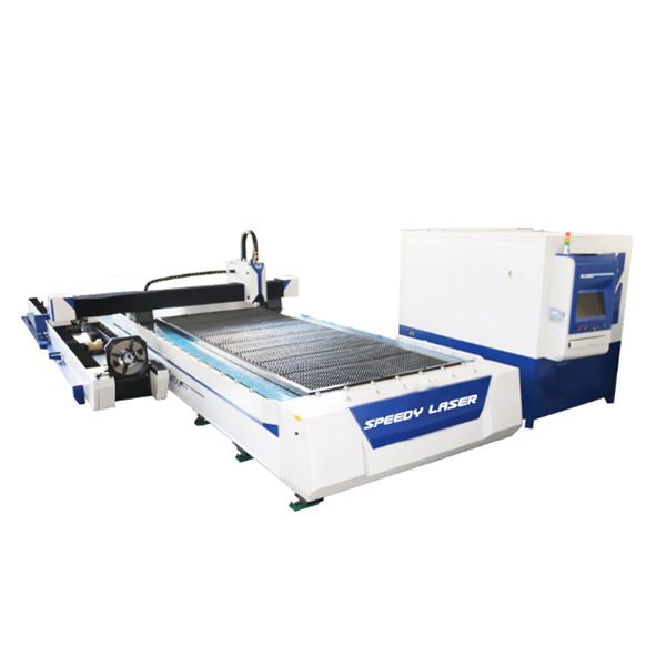 Metal sheet & pipe fiber laser cutting machine