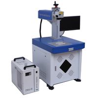 Desktop 5watt UV laser marking engraving machine