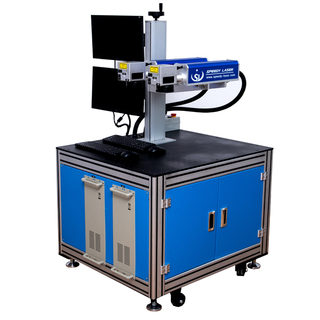 Customized double head laser marking engraving machine